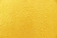Golden texture background, concrete wall background Stock Image