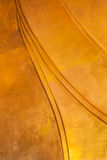 Golden texture background. Gold texture background on the big buddha statue Royalty Free Stock Photography