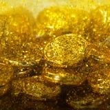 Golden texture Stock Photo