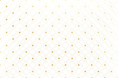 Golden texture. Geometric edged pattern with connected lines and dots. Lines plexus circles. Graphic background Royalty Free Stock Photo