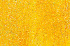 golden texture with glittering for pattern and background Stock Image