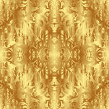 Golden texture stock illustration