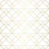 Golden texture. Seamless geometric pattern. Golden background. G Royalty Free Stock Photos