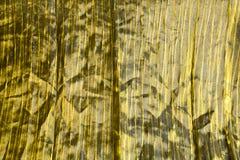 Golden texture of silk. Texture of the golden colour silk Stock Images