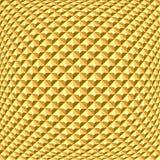 Golden textured background. Stock Image
