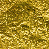 Golden textured surface background Royalty Free Stock Photo