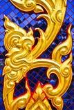 Golden thai art Stock Photo