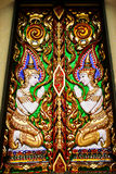 Golden thai art Royalty Free Stock Images