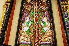 Golden thai art Stock Image