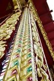 Golden thai art Stock Photography