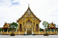 Golden thai art Royalty Free Stock Photo