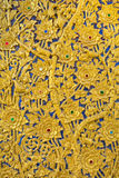 Golden Thai flower pattern Stock Photography