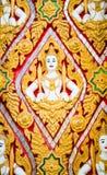 Golden thai handcraft Stock Photography