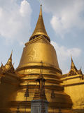 Golden Thai Pagodas Royalty Free Stock Image