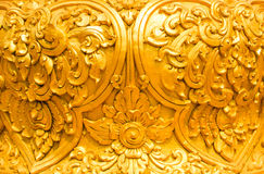 Golden Thai style Royalty Free Stock Images