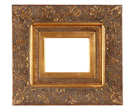 Golden Thick Frame Royalty Free Stock Photos