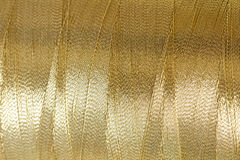Golden thread Royalty Free Stock Photos