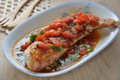 Golden Threadfin Bream fish Stock Photos