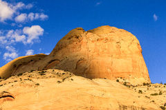 Golden Throne Capitol Reef Royalty Free Stock Photography