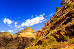 Golden Throne at Capitol Reef Stock Image
