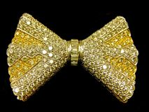 Golden tie Stock Images
