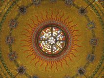 Free Golden Tiled Artwork Inside The Church Royalty Free Stock Photos - 115128818