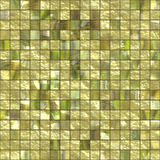 Golden tiles Stock Images