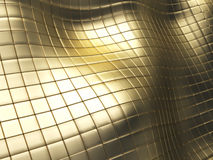 Golden tiles Stock Image