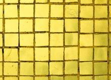 Golden Tiles Royalty Free Stock Photos