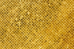 Golden tiles background Royalty Free Stock Image