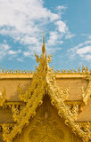 Golden toilet. Of Wat Rong Khun temple,Thailand Stock Images