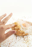 Golden touch Stock Image