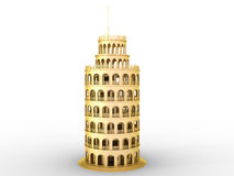 Golden Tower �1 Royalty Free Stock Images