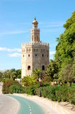 Golden Tower Stock Photography