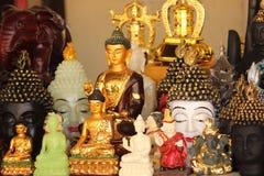 Hanging buddha decorative head Stock Photo