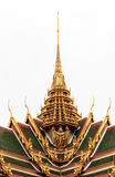 Golden Traditional Thai Temple Architecture Royalty Free Stock Photo
