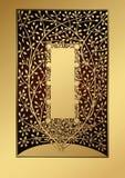 Golden tree. Illustration of golden tree design Stock Image