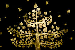 Golden Tree Stock Image
