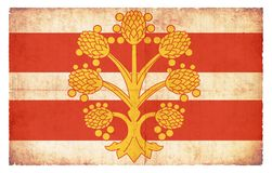 Golden Tree of Westmorland (Great Britain) Stock Photo