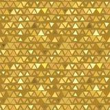Golden Triangle seamless pattern, yellow beige. Background. Vector illustration vector illustration