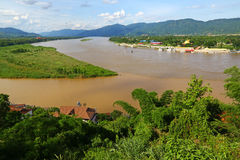 The Golden Triangle, Thailand Royalty Free Stock Photos