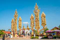 Golden Triangle - Thailand stock images