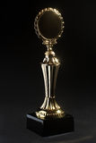 Golden trophy award Royalty Free Stock Image