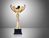 Golden trophy Royalty Free Stock Photography