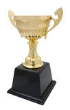 golden trophy isolated Royalty Free Stock Images