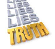 Truth Prevails Royalty Free Stock Photography