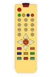 Golden universal remote control Stock Photos