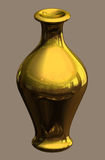 Golden Urn Royalty Free Stock Photography
