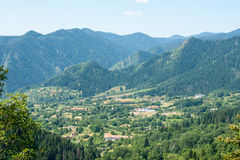 Golden Valley in the Rhodope Mountains in Bulgaria Royalty Free Stock Image