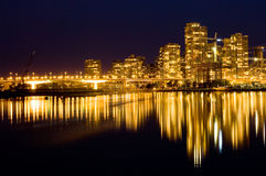 Golden Vancouver Royalty Free Stock Photos